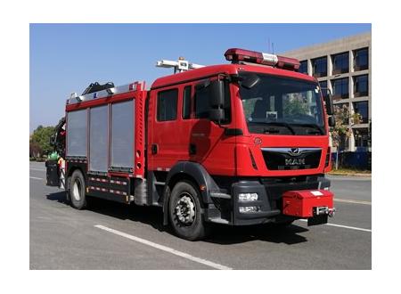 德国曼恩抢险救援消防车